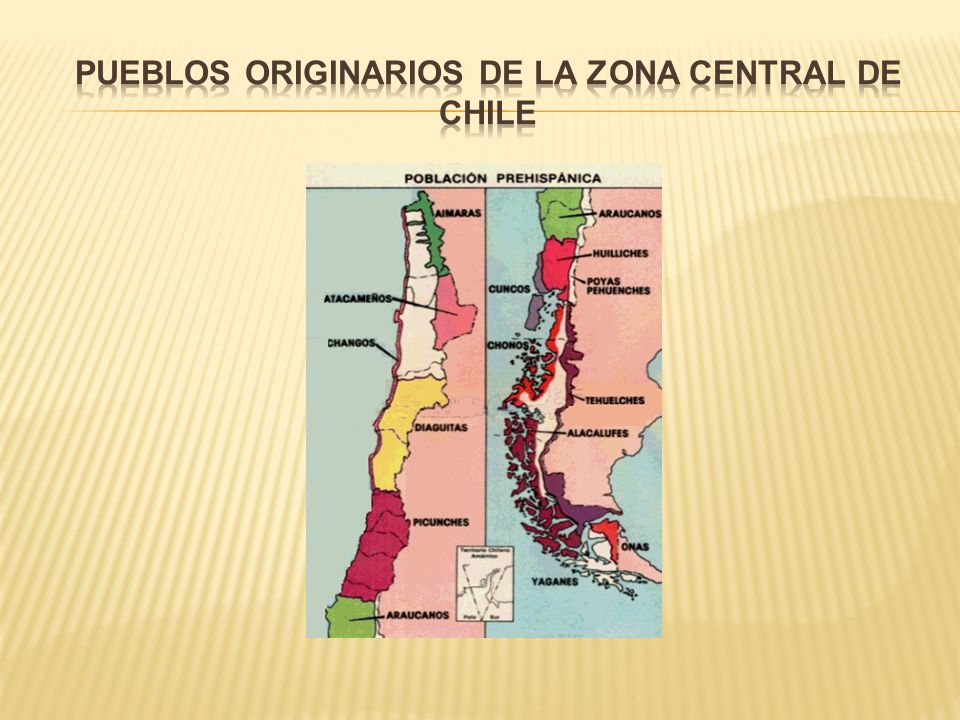 Pueblos originarios de la zona central de Chile