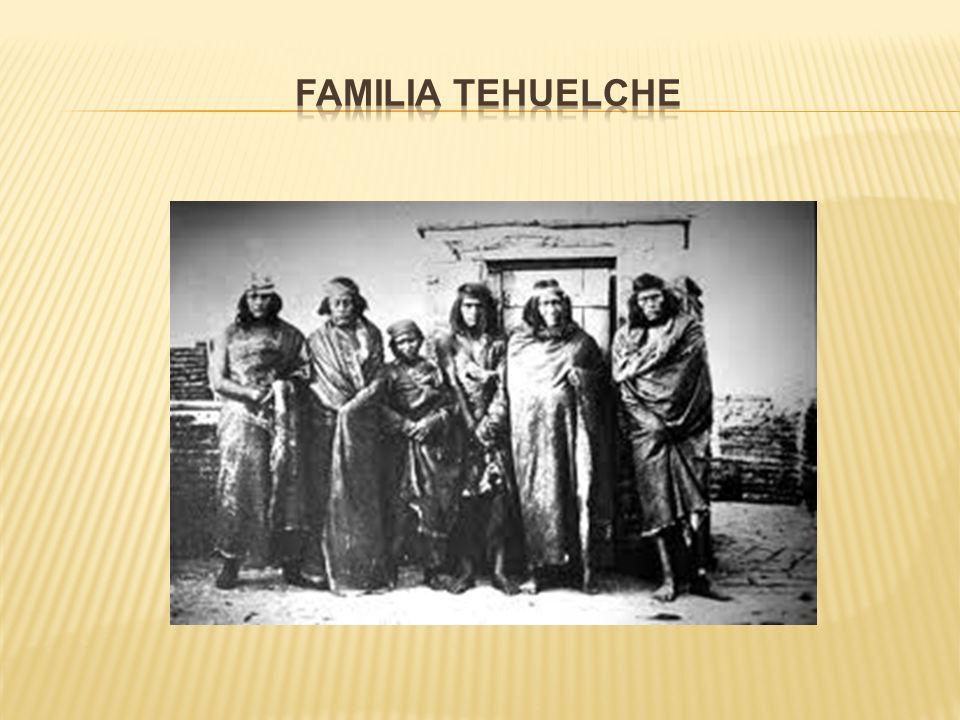 Familia Tehuelche