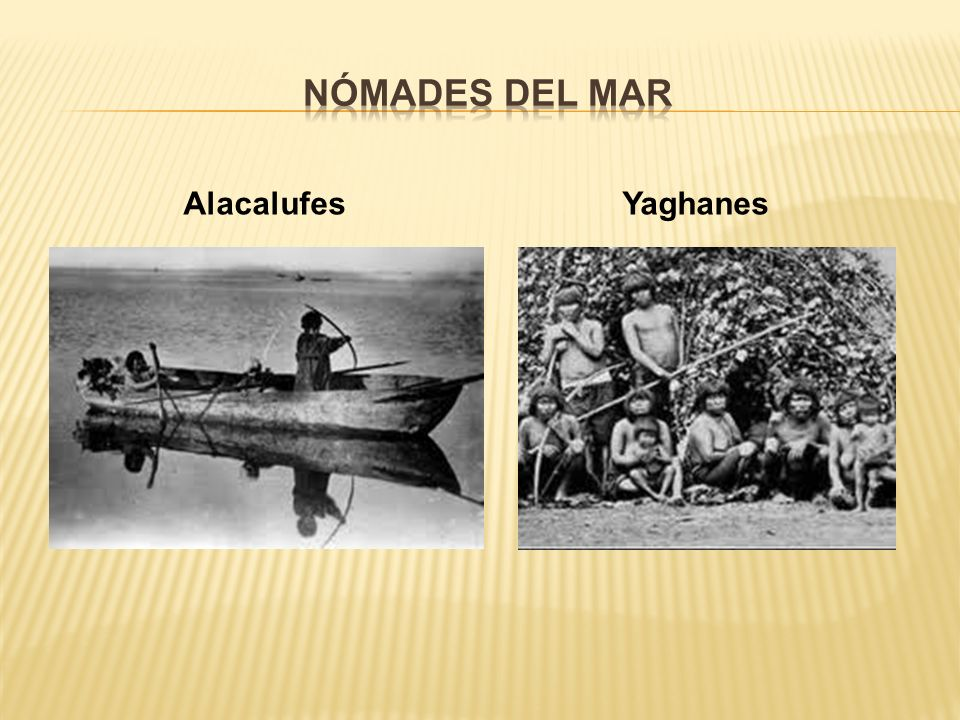 Nómades del mar Alacalufes Yaghanes