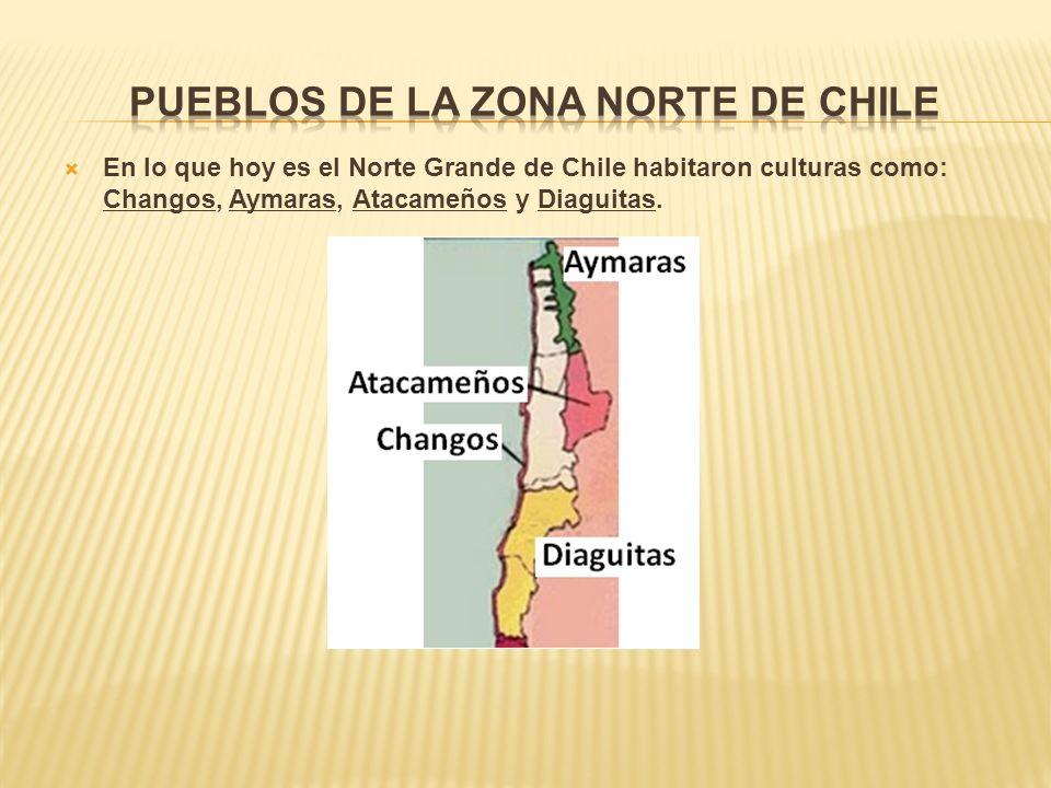 Pueblos de la zona norte de Chile