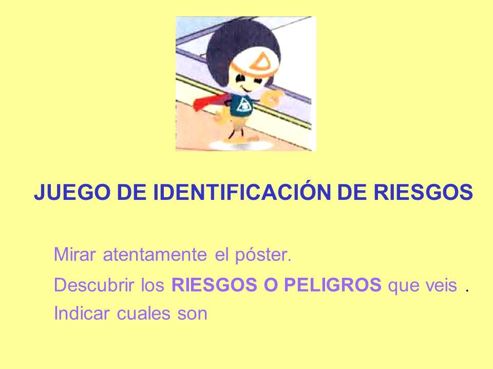 JUEGO DE IDENTIFICACIÓN DE RIESGOS