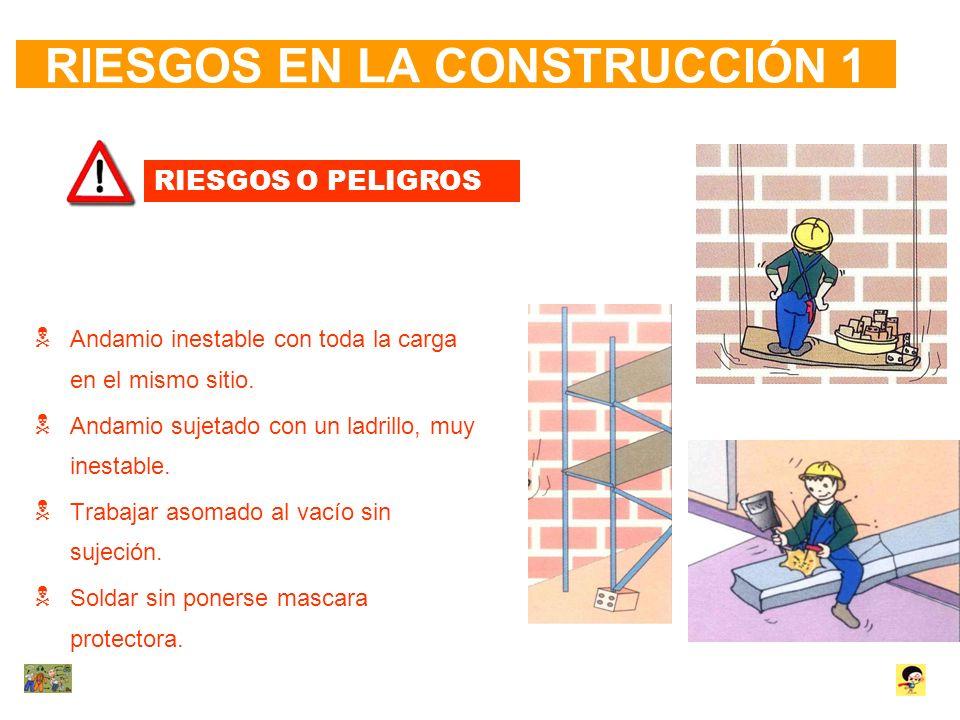 RIESGOS EN LA CONSTRUCCIÓN 1