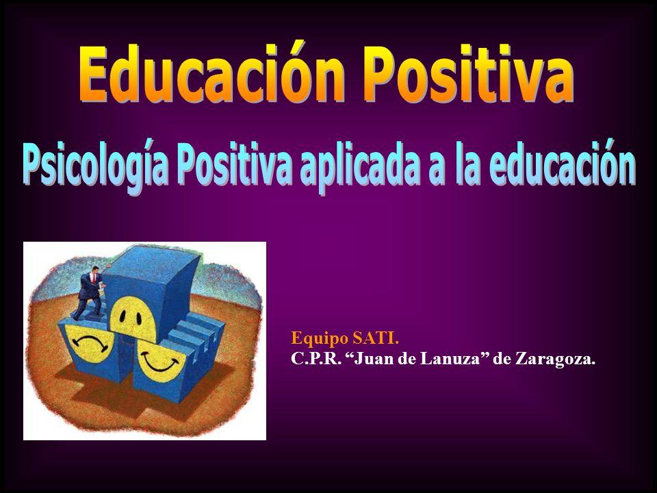 Psicología Positiva aplicada a la educación