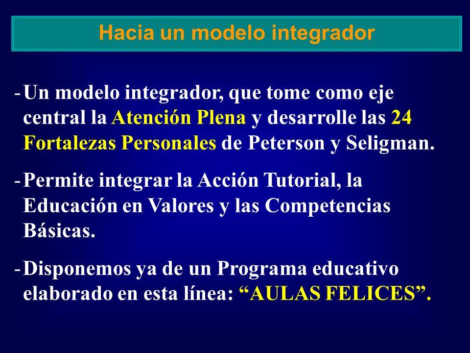 Hacia un modelo integrador