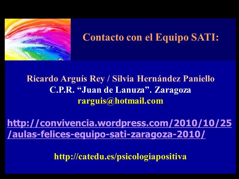 Contacto con el Equipo SATI: