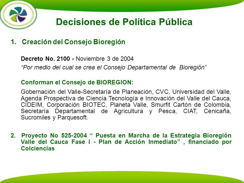 Decisiones de Política Pública