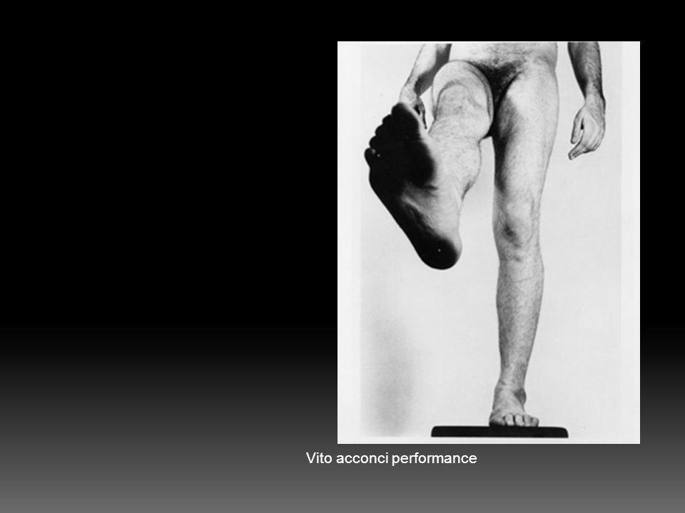Vito acconci performance