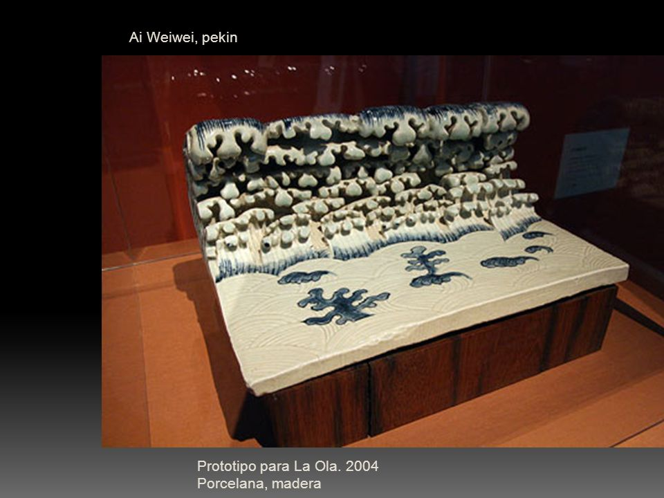 Ai Weiwei, pekin Prototipo para La Ola.