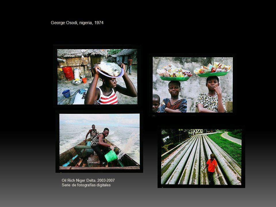 George Osodi, nigeria, 1974 Oil Rich Niger Delta.