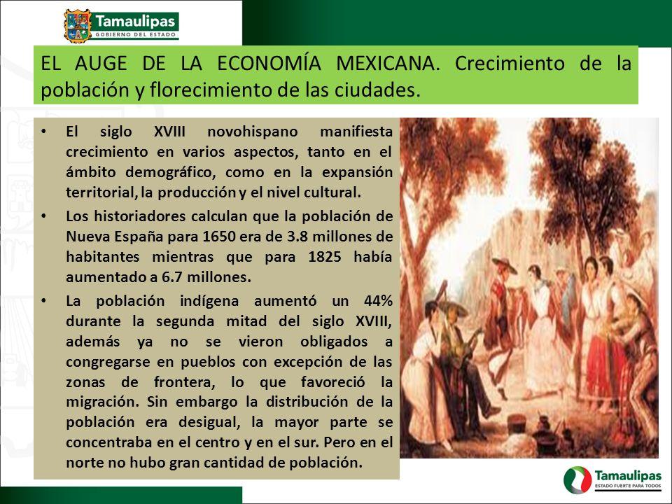 EL AUGE DE LA ECONOMÍA MEXICANA