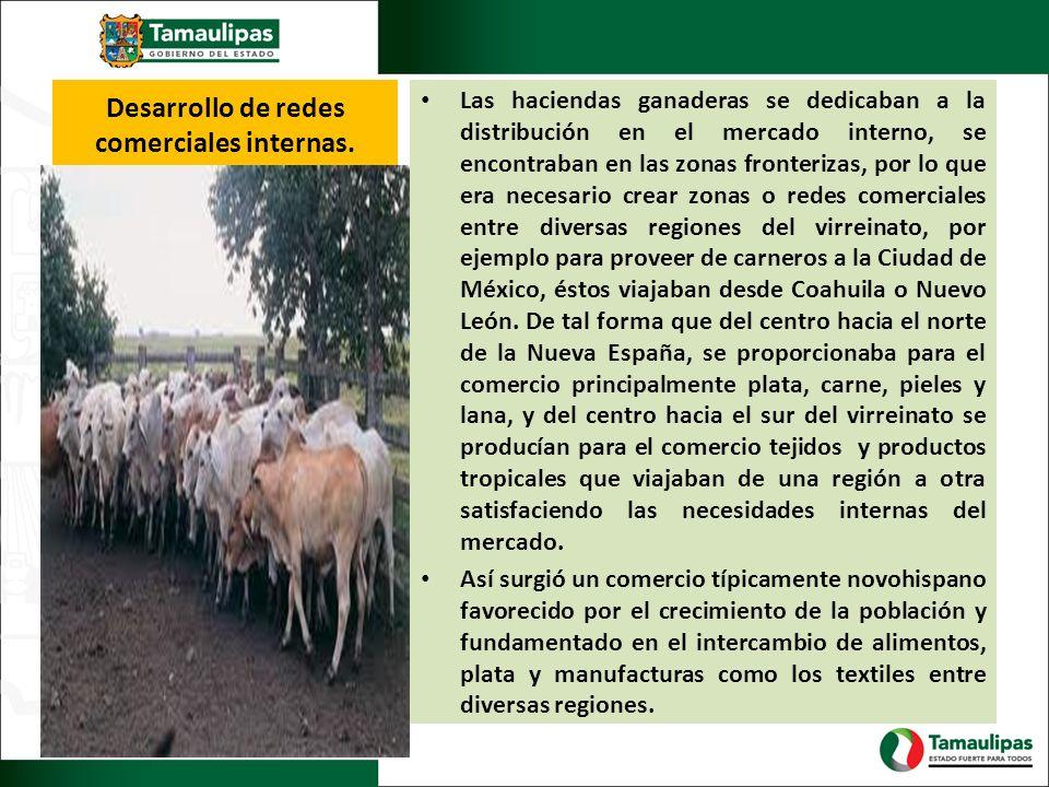 Desarrollo de redes comerciales internas.