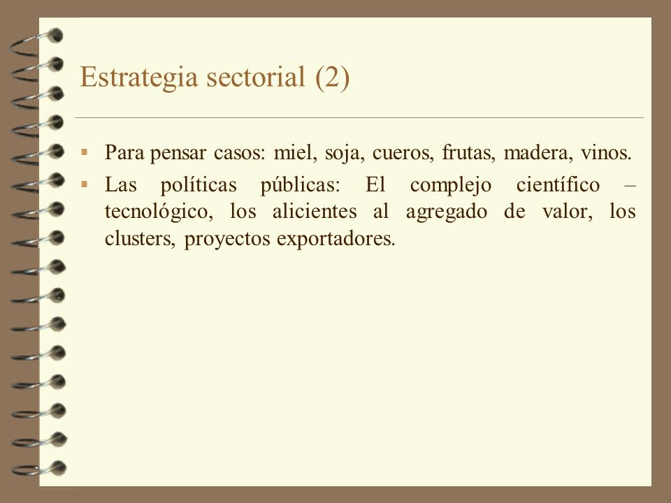 Estrategia sectorial (2)