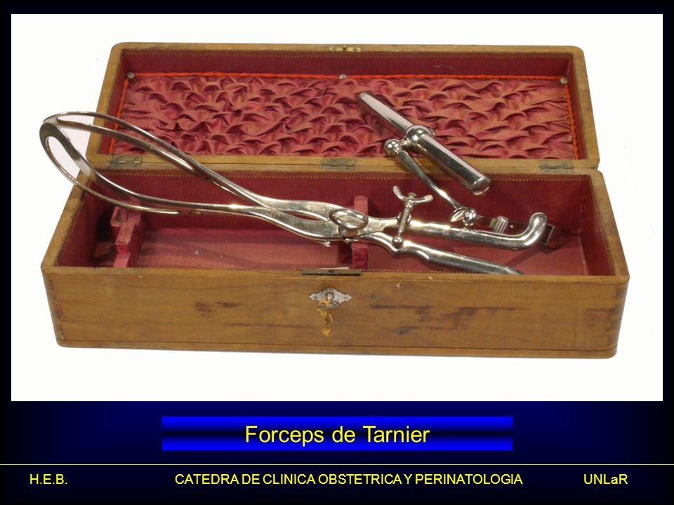 Forceps de Tarnier