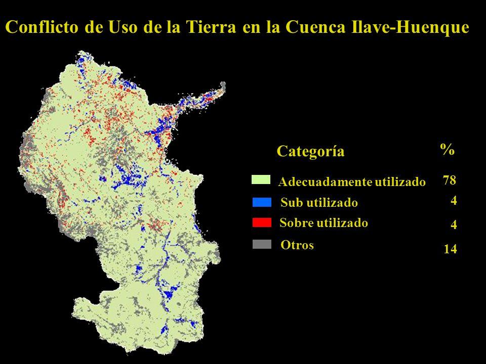 Conflicto de Uso de la Tierra en la Cuenca Ilave-Huenque