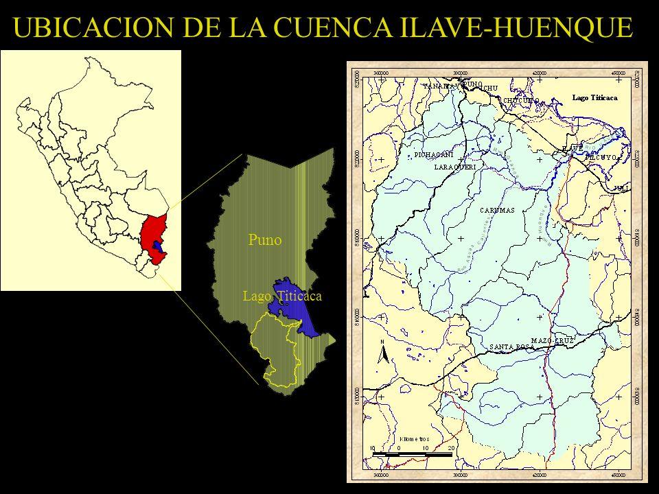 UBICACION DE LA CUENCA ILAVE-HUENQUE