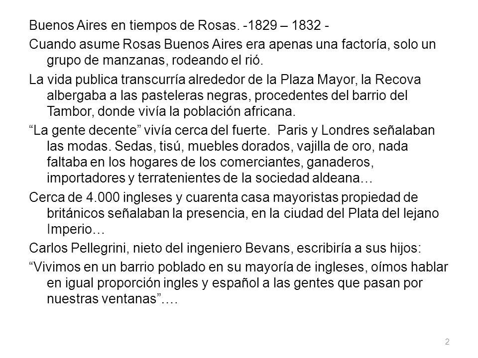 Buenos Aires en tiempos de Rosas