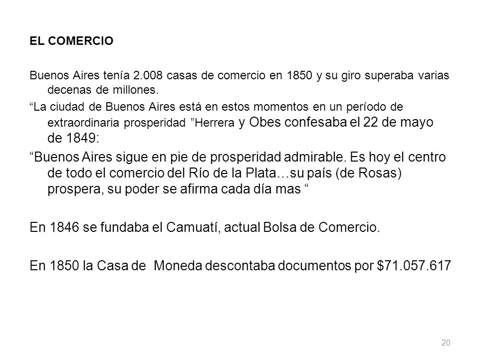 En 1846 se fundaba el Camuatí, actual Bolsa de Comercio.