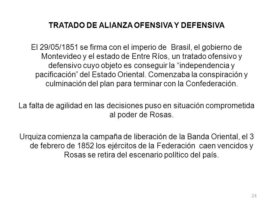 TRATADO DE ALIANZA OFENSIVA Y DEFENSIVA