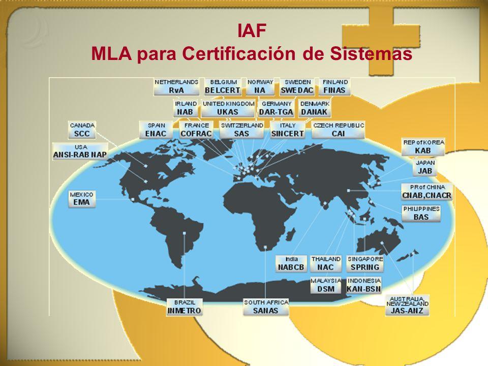 MLA para Certificación de Sistemas