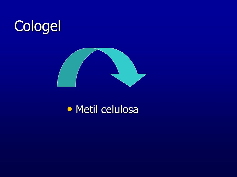 Cologel Metil celulosa