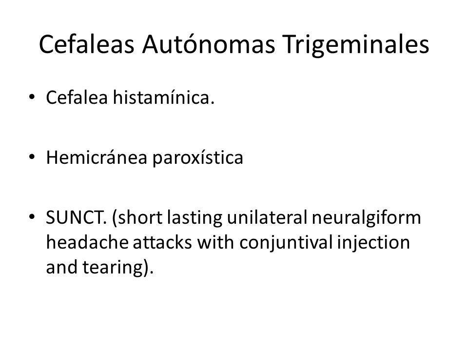 Cefaleas Autónomas Trigeminales