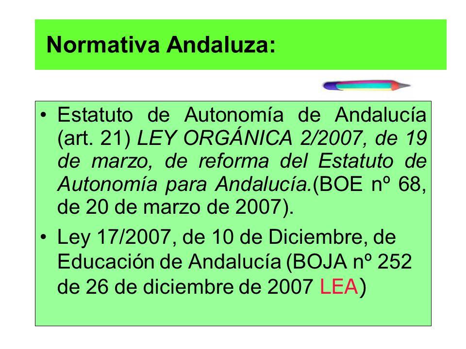 Normativa Andaluza: