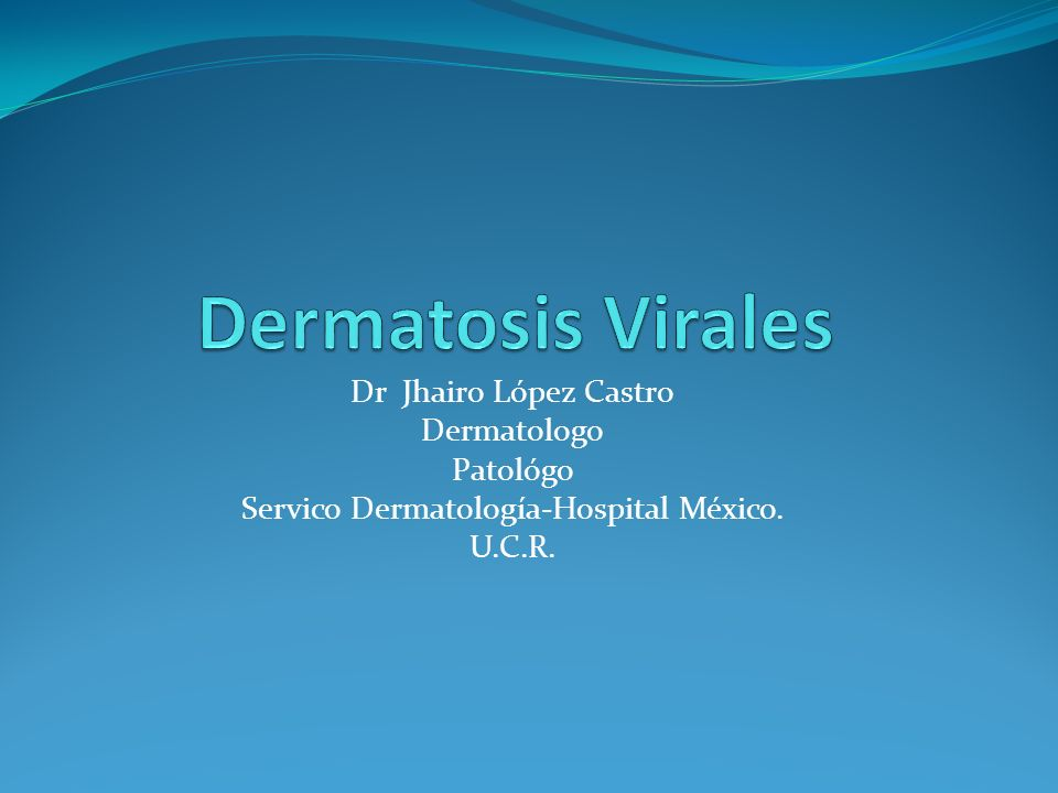 Servico Dermatología-Hospital México.
