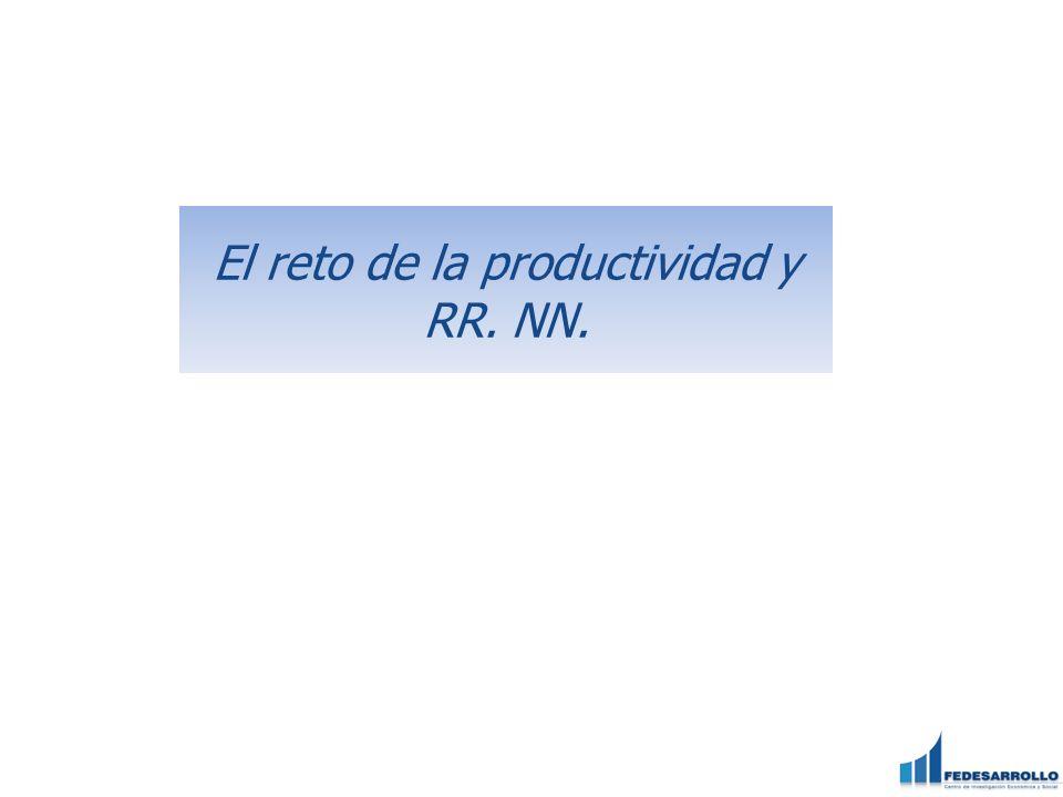 El reto de la productividad y RR. NN.