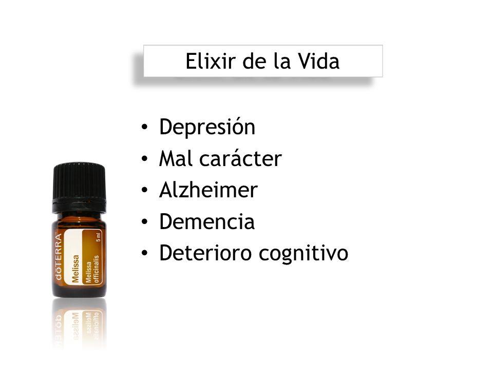 Elixir de la Vida Depresión Mal carácter Alzheimer Demencia Deterioro cognitivo