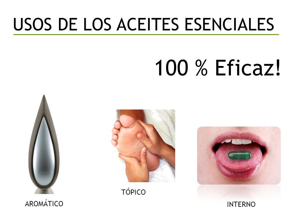 100 % Eficaz! USOS DE LOS ACEITES ESENCIALES TÓPICO INTERNO AROMÁTICO