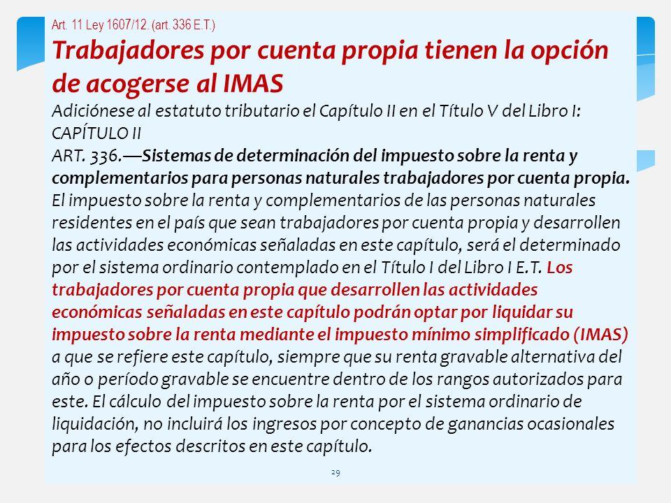 Trabajadores por cuenta propia tienen la opción de acogerse al IMAS
