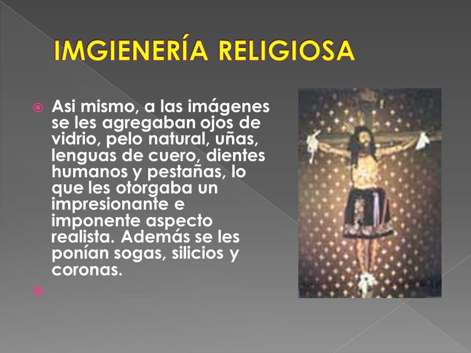IMGIENERÍA RELIGIOSA