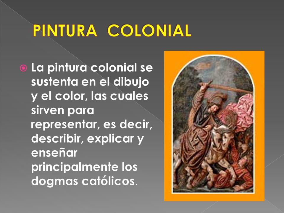 PINTURA COLONIAL
