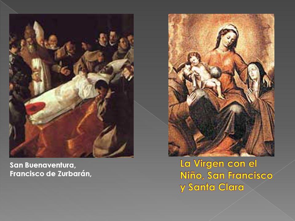 La Virgen con el Niño, San Francisco y Santa Clara