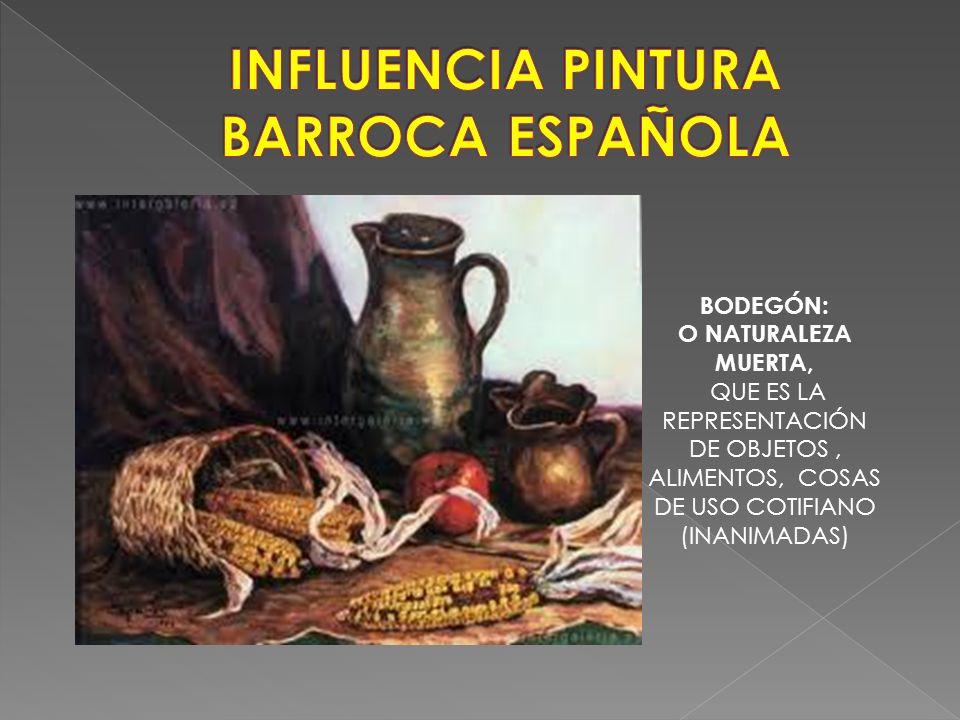 INFLUENCIA PINTURA BARROCA ESPAÑOLA