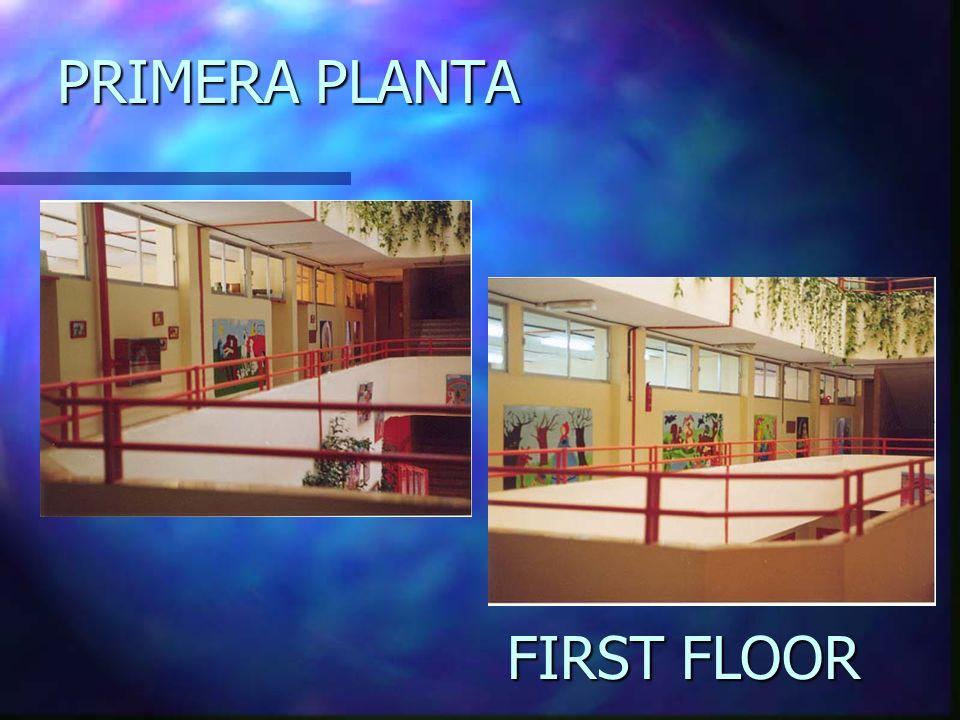 PRIMERA PLANTA FIRST FLOOR