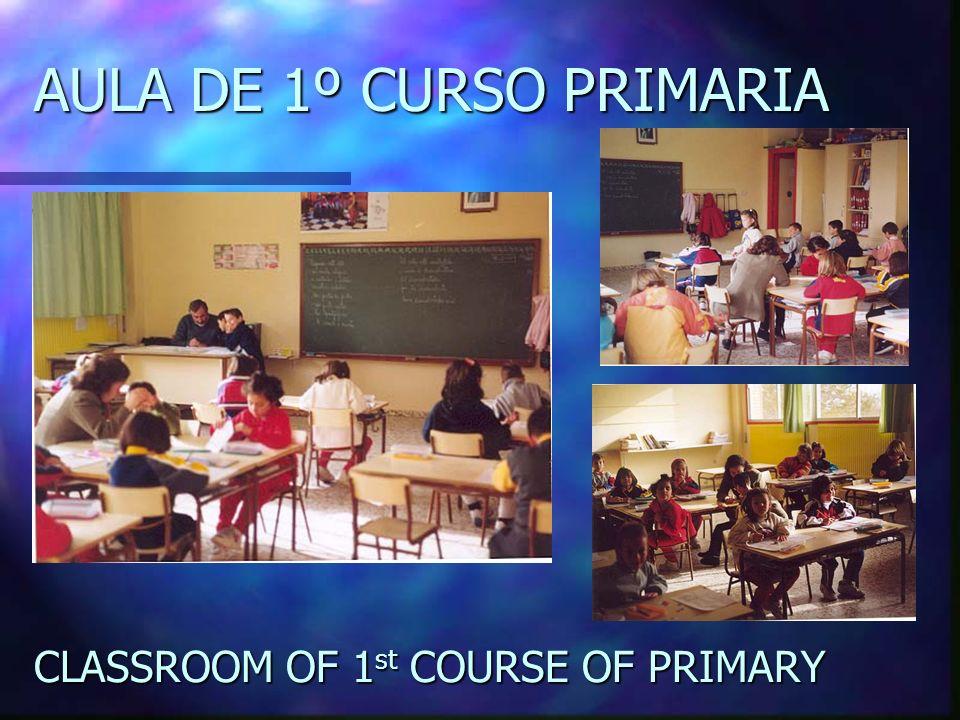 AULA DE 1º CURSO PRIMARIA
