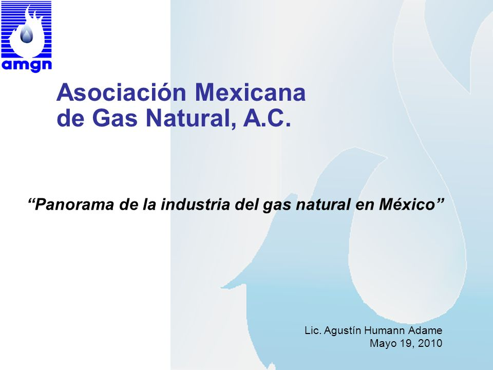 Asociación Mexicana de Gas Natural, A.C.