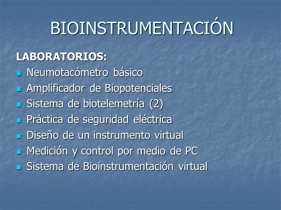 BIOINSTRUMENTACIÓN LABORATORIOS: Neumotacómetro básico