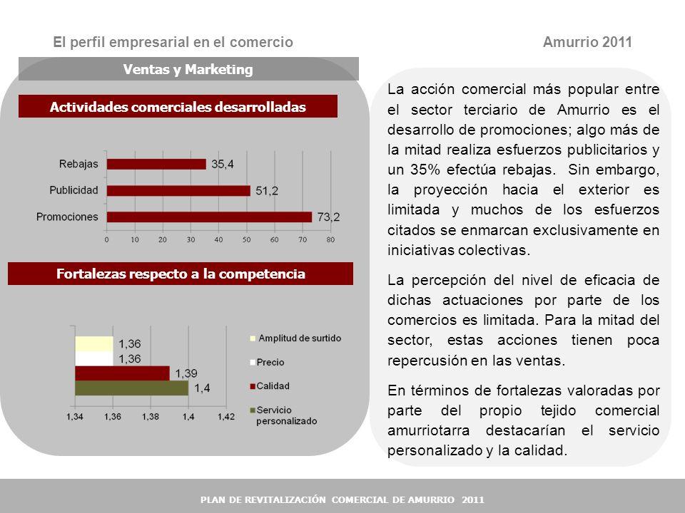 El perfil empresarial en el comercio