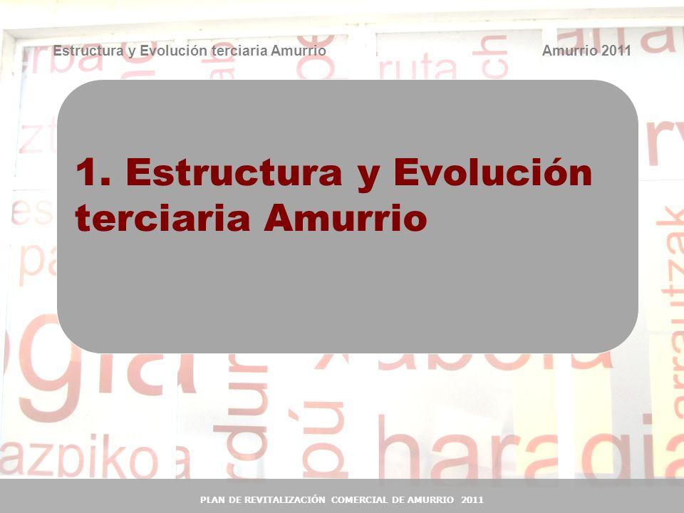 1. Estructura y Evolución terciaria Amurrio