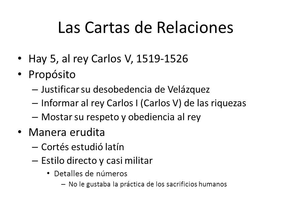 Las Cartas de Relaciones