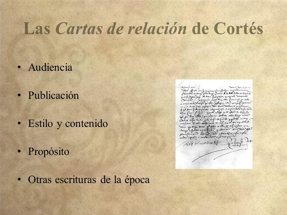 Las Cartas de relación de Cortés