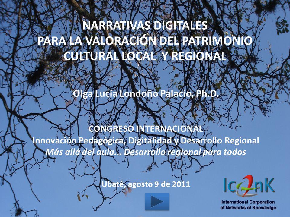 PARA LA VALORACIÓN DEL PATRIMONIO CULTURAL LOCAL Y REGIONAL