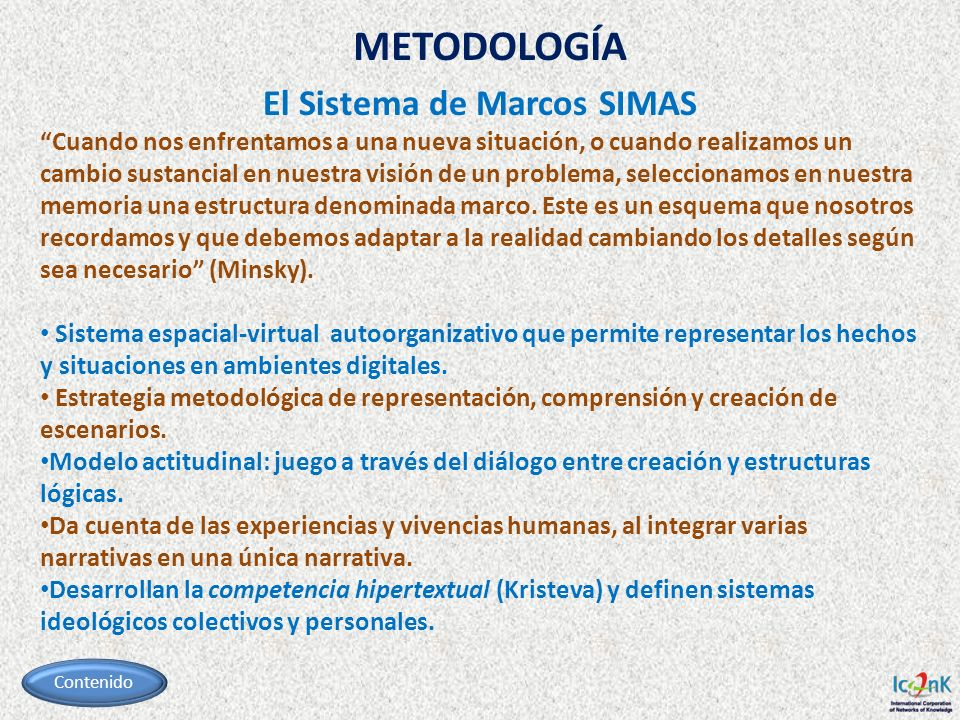 El Sistema de Marcos SIMAS