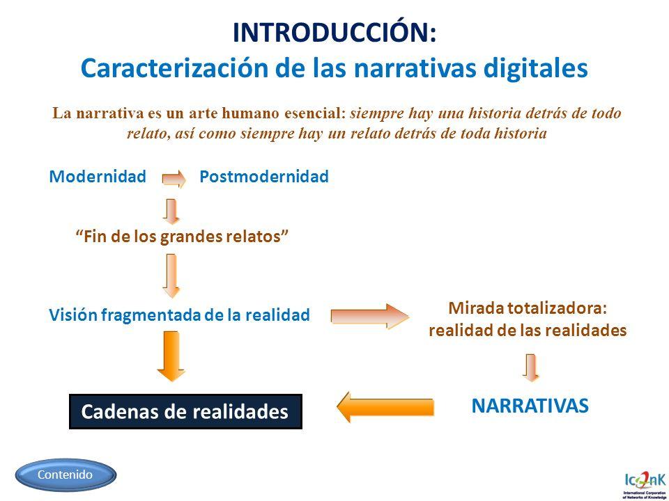 Caracterización de las narrativas digitales