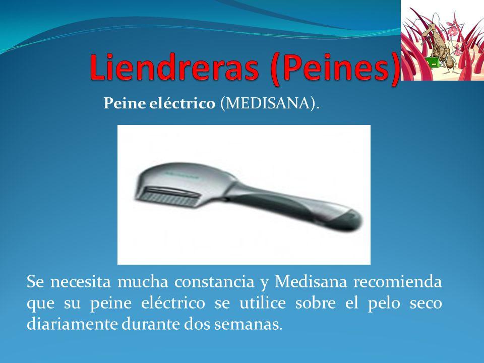 Liendreras (Peines) Peine eléctrico (MEDISANA).