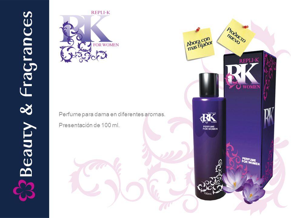 Perfume para dama en diferentes aromas.