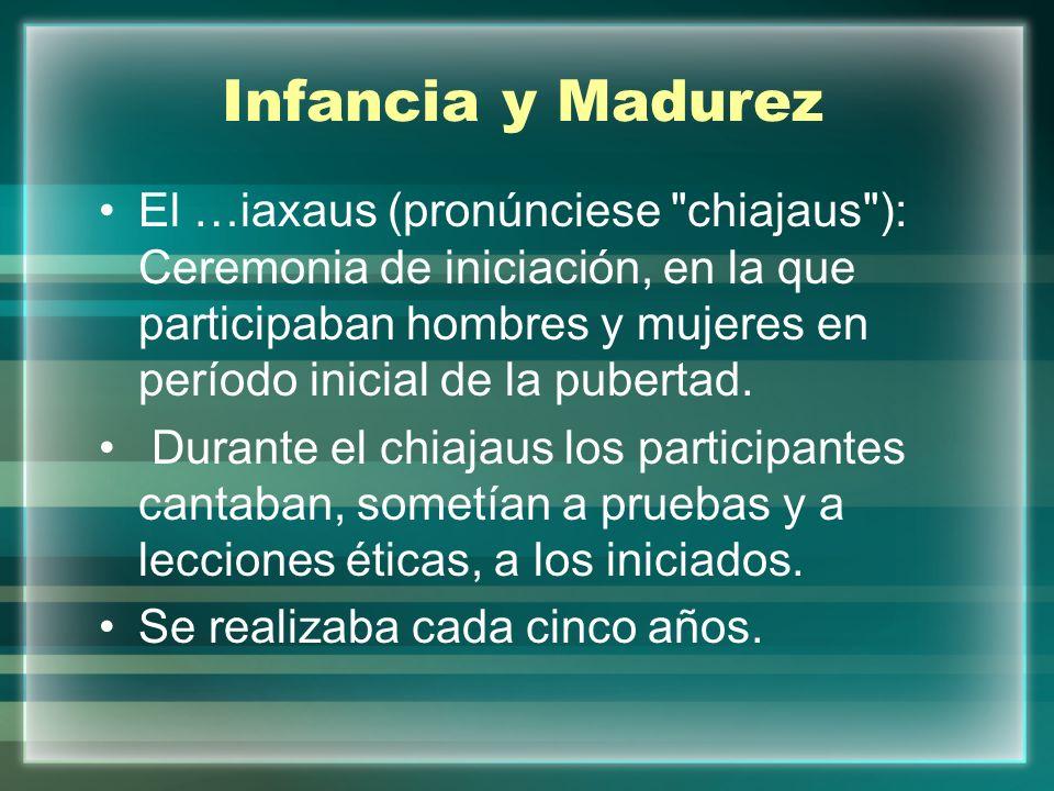 Infancia y Madurez