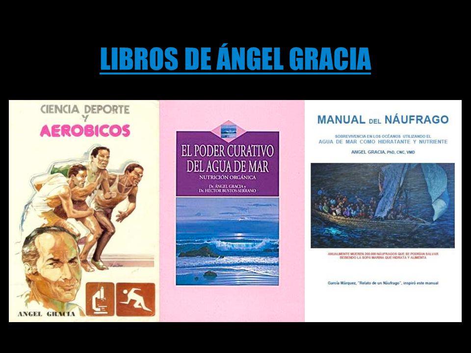 LIBROS DE ÁNGEL GRACIA